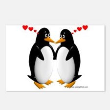 Penguin Lovers Postcards (Package of 8)