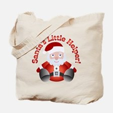 SANTA'S LITTLE HELPER! Tote Bag