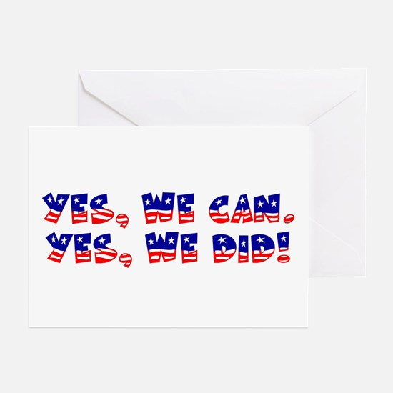 Yes, We Did! Greeting Cards (Pk of 10)