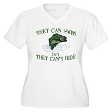 THEY CAN SWIM BUT CAN'T HIDE T-Shirt