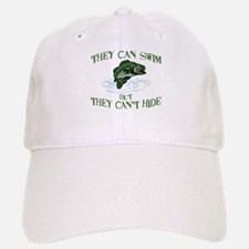 THEY CAN SWIM BUT CAN'T HIDE Baseball Baseball Cap
