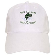 THEY CAN SWIM BUT CAN'T HIDE Baseball Cap
