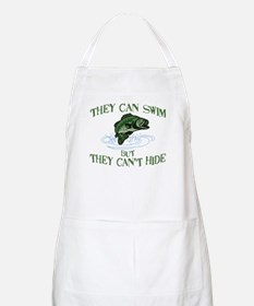 THEY CAN SWIM BUT CAN'T HIDE BBQ Apron