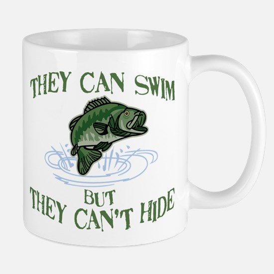 THEY CAN SWIM BUT CAN'T HIDE Mug