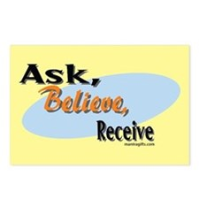 Ask, Believe, Receive Postcards (Package of 8)