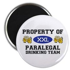 Property of Paralegal Drinking Team Magnet