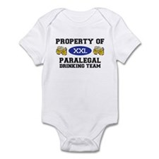 Property of Paralegal Drinking Team Infant Bodysui