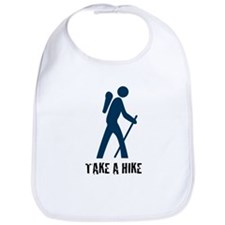 Take A Hike Blue Bib