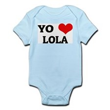 Amo (i love) Lola Infant Creeper