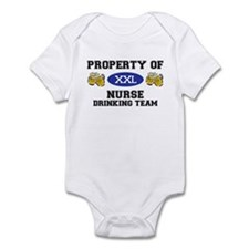 Property of Nurse Drinking Team Infant Bodysuit
