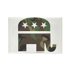 Camo-GOP Rectangle Magnet