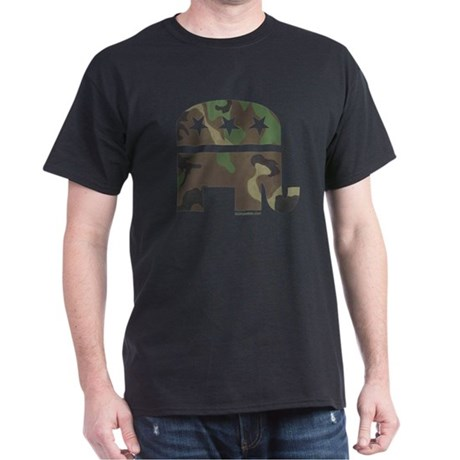 Camo-GOP Dark T-Shirt