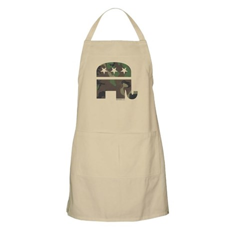 Camo-GOP BBQ Apron