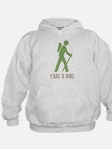 Take a Hike Green Hoodie