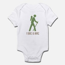 Take a Hike Green Infant Bodysuit