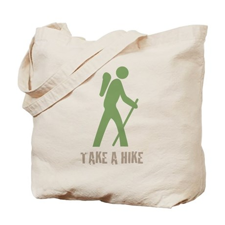 Take a Hike Green Tote Bag
