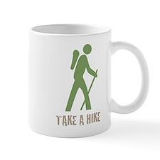 Take a Hike Green Small Mug