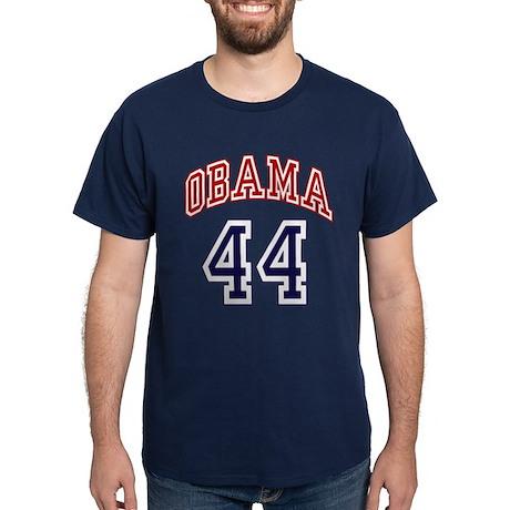 Obama 44th President Dark T-Shirt