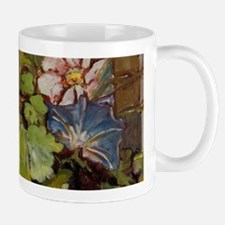 Morning Glories and Cosmos Mug