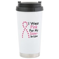I Wear Pink Travel Mug