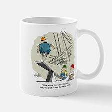 Funny Mine safety Mug