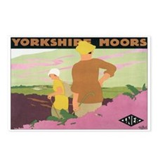 Yorkshire England Postcards (Package of 8)
