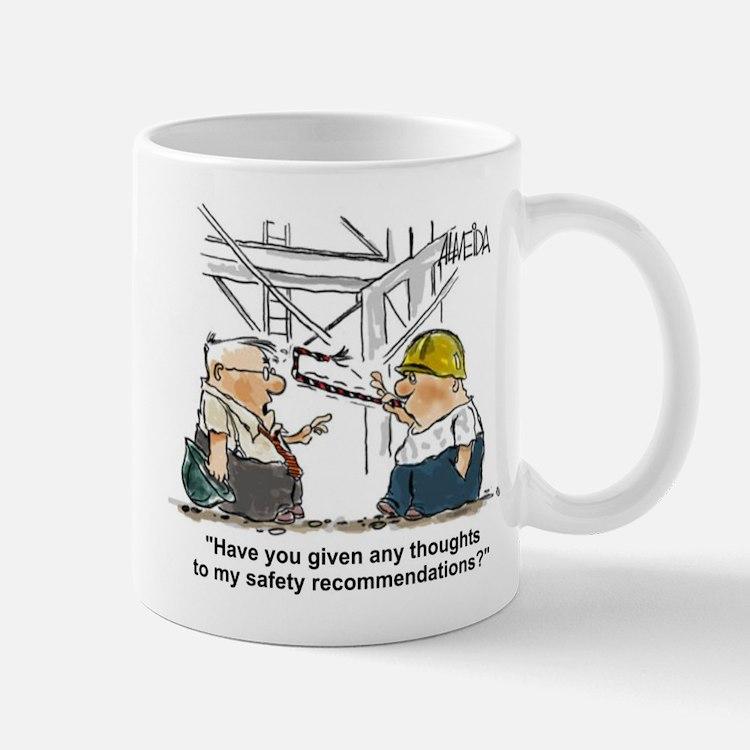 Cute Mine safety Mug