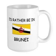 I'd rather be in Brunei Mug