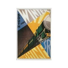 Southern England Rectangle Magnet (100 pack)
