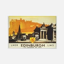 Edinburgh Scotland Rectangle Magnet