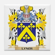 Lynch Coat of Arms - Family Crest Tile Coaster