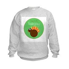 Baby's First Thanksgiving Sweatshirt