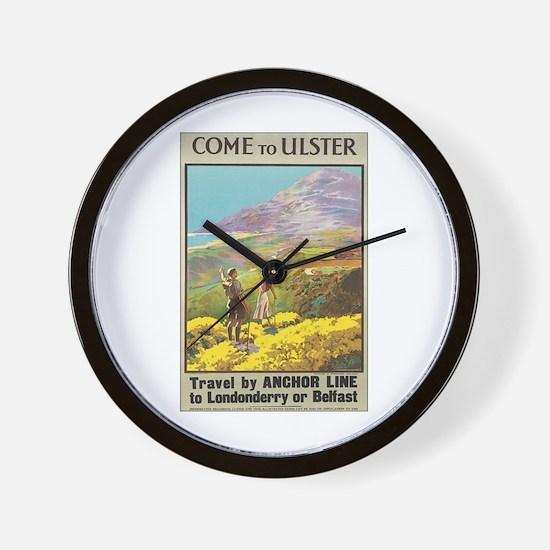 Ulster Ireland Wall Clock