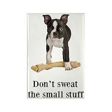 Boston Terrier Stuff Rectangle Magnet