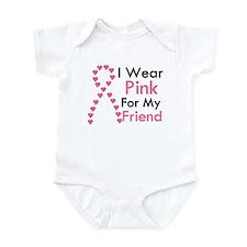 I Wear Pink Infant Bodysuit