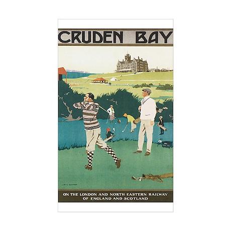 Cruden Bay Scotland Rectangle Sticker 10 pk)