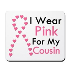 I Wear Pink Mousepad
