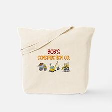 Bob's Construction Tractors Tote Bag