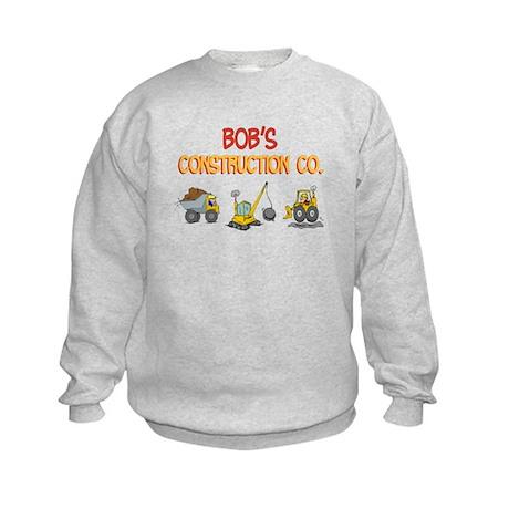 Bob's Construction Tractors Kids Sweatshirt