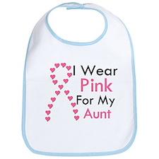 I Wear Pink Bib