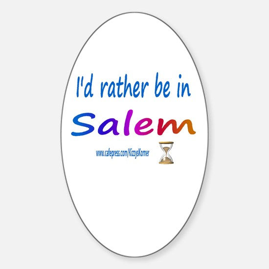 DOOL SALEM Oval Decal