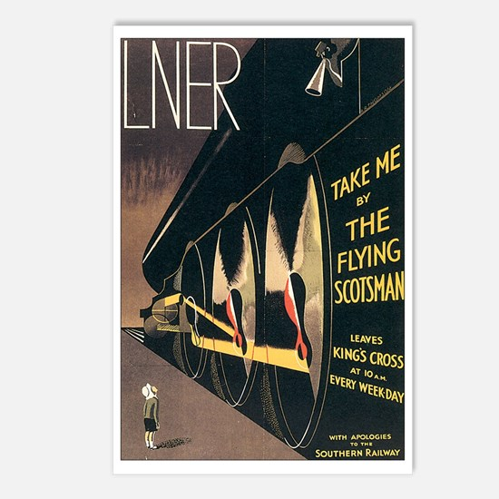 Lner Railway Scotland Postcards (Package of 8)