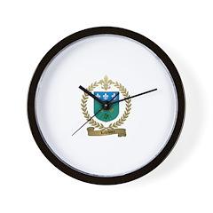LEFEBVRE Family Wall Clock