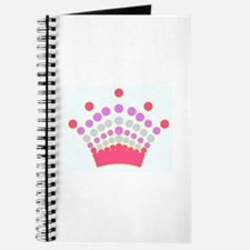 Spiral Bound Journal w/Colorful Crown