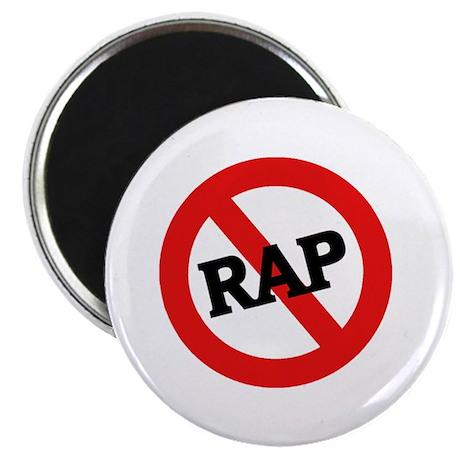 """Anti Rap 2.25"""" Magnet (10 pack)"""