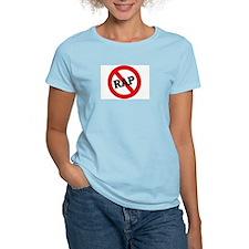 Anti Rap Women's Pink T-Shirt