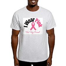 I Wear Pink Friend T-Shirt