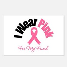 I Wear Pink Friend Postcards (Package of 8)
