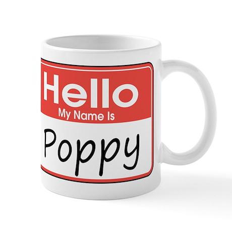 Hello, My name is Poppy Mug