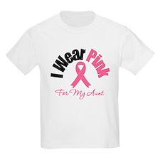 I Wear Pink Aunt T-Shirt
